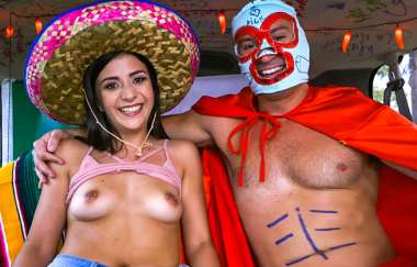 Sean Lawless, Natalie Brooks - Bangbus Celebrates Cinco De Mayo 2018 - Bang Bus