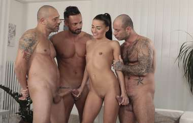 Gemella Dellai - Three Horny Cocks For Gemella