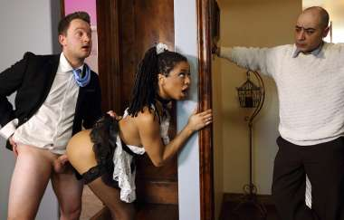 Kira Noir, Van Wylde - Up And Cummer - Brazzers Exxtra