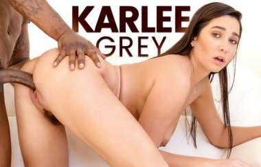 Karlee Grey - Black Poles Teen Holes