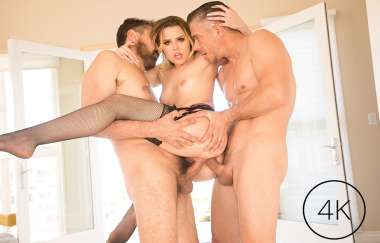 Aubrey Sinclair, Mick Blue, Steve Holmes - Aubrey Sinclairs First Dp