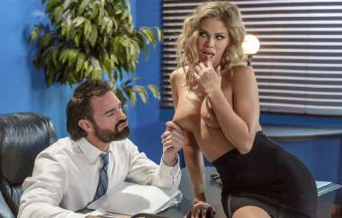 Jessa Rhodes, Charles Dera - Scanner Scandal - Big Tits At Work