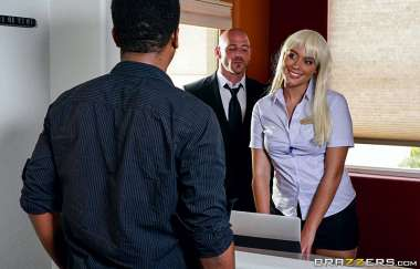 Athena Palomino, Johnny Sins - Checking Into Athena - Big Tits At Work