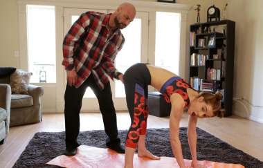 Pepper Hart - Yoga With Daddy - Daddyslilangel
