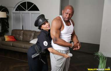 Lela Star , Prince Yahshua - Bad Cop Black Cock - Rk Prime