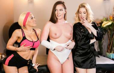 Maddy Oreilly, Charlotte Stokely, Luna Star - Two Is Better Than One - Allgirlmassage