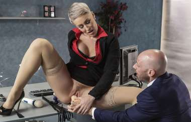 Ryan Keely, Johnny Sins - Product Placement In Her Pussy - Big Tits At Work
