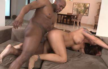 Eva Angelina - Slut And Hungry Milf Drilled By Black Cock