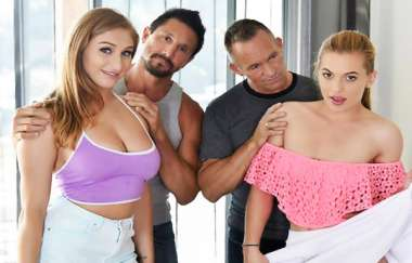 Skylar Snow, Sloan Harper - Fucking Fathers To Keep The Car