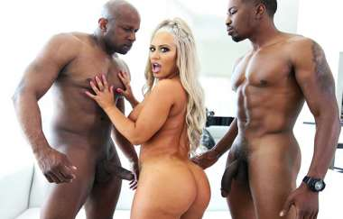 Brandi Bae, Prince Yahshua, Isiah Maxwell - Two Big Black Cocks For Brandi - Ass Parade