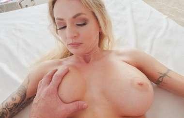 Natasha Starr - Stepmom Oils My Cock