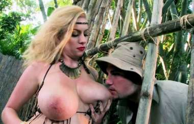 Kali West - Caged Mamazon Sex
