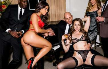 Tori Black, Adriana Chechik, Johnny Sins - After Dark Part 2