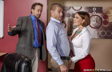 Krissy Lynn, Xander Corvus - I Quit, Whos Cumming With Me? - Big Tits At Work