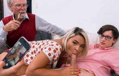 Rharri Rhound, Janna Hicks - Family Fucks To Make Him Jealous