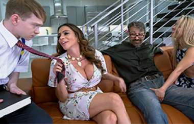 Ariella Ferrera, Lilly Ford - Squirter And Stepmom Worship A Cock