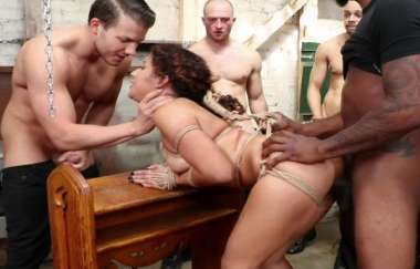 Liv Revamped - Gangbang Confessional - Boundgangbangs