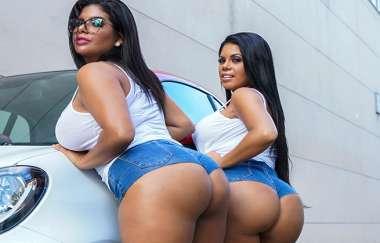 Sheila Ortega, Kesha Ortega - Kesha And Sheila Ortegas Huge Asses - Ass Parade