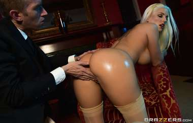 Blanche Bradburry, Danny D - First Class Ass - Big Wet Butts