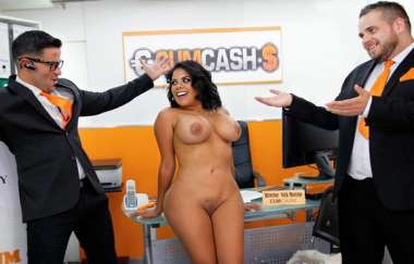 Kesha Ortega - Kesha Applies For A Cumcash Loan - Cumcash