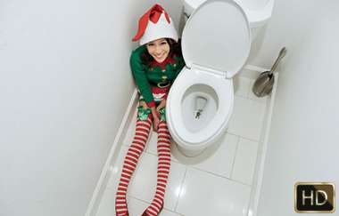 Jasmine Grey - Elf On A Shelf - Exxxtrasmall