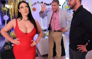 Angela White, Xander Corvus - Fappy New Year - Real Wife Stories