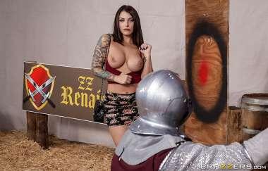 Ivy Lebelle, Xander Corvus - Renaissance Fair Fuck - Brazzers Exxtra