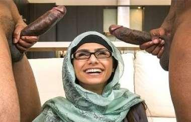 Mia Khalifa - My Big Black Threesome