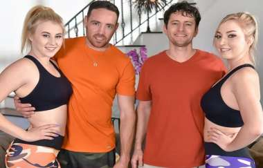 Zoe Parker, Kinsley Anne - Daughters And Dad Bods