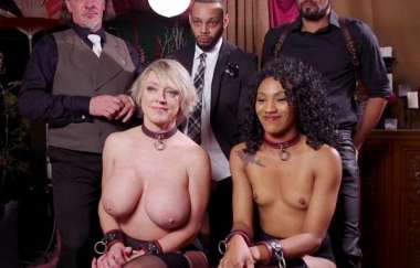 Nikki Darling, Dee Williams - Well Trained Anal Sluts Service Folsom Orgy? - Theupperfloor