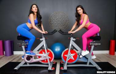 Sophia Leone , Katana Kombat - Dual Dildocycles - We Live Together
