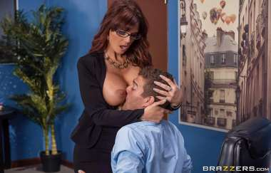 Syren De Mer, Xander Corvus - Red Hot Boss From Hell - Big Tits At Work
