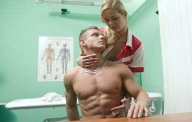Nikky Dream - Stud Cums All Over Nurses Stomach