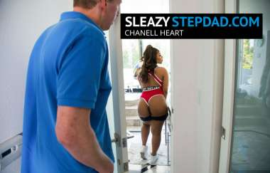 Chanell Heart, Mark Wood - Chanell Heart Gets Seduced By Her Sleazy Step Dad - Sleazy Stepdad