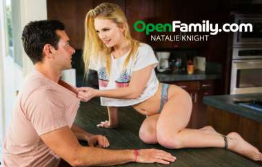 Natalie Knight, Ryan Driller - Natalie Knight Tells Her Mom Everything - Open Family