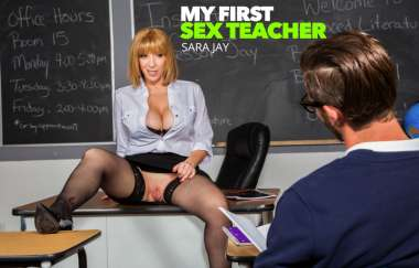 PROF. SARA JAY GIVES STUDENT HER BIG ASS