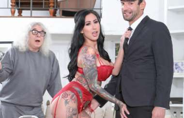 Lily Lane, Alex Legend, Corey Chaplin - Lilys Chauffeur Gives Her A Real Cock To Fuck