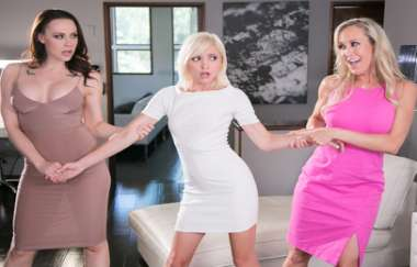 Brandi Love, Chanel Preston, Eliza Jane - Getting Caught: Almost Freaky - Mommysgirl