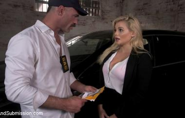 Charles Dera, Katy Jayne - American Cock: Us Janitor Catches British Spy Katy Jayne - Sexandsubmission