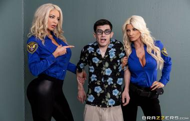 Fucking His Way Into the U.S.A – Brittany Andrews, Nicolette Shea