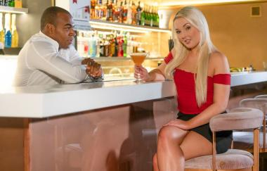 Lovita Fate - Czech Blonde Seduces The Bartender