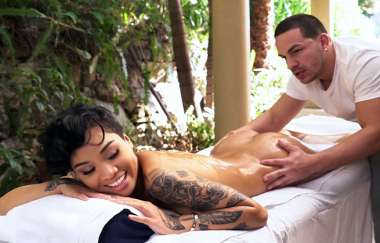 Honey Gold - Perfect Massage Ends With A Load - Brownbunnies