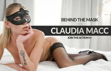 Claudia Macc, Max Dior - Sexy Blonde Has Intense Sex - The White Boxxx