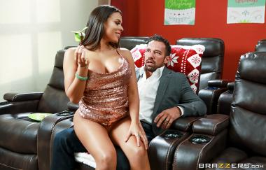 Luna Star, Johnny Castle - Horny For The Holidays: Part 3 - Big Butts Like It Big