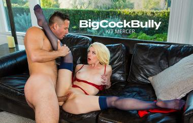 Kit Mercer, Danny Mountain - Kit Mercer Fucks Her Sons Bully To Get Him To Stop - Big Cock Bully