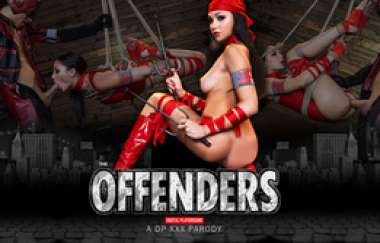 Ariana Marie - The Offenders: A Dp Xxx Parody