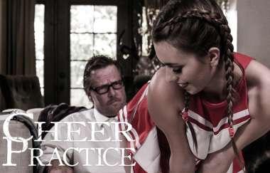 Jill Kassidy - Cheer Practice