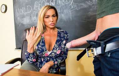 Aubrey Black , Justin Hunt - My First Sex Teacher