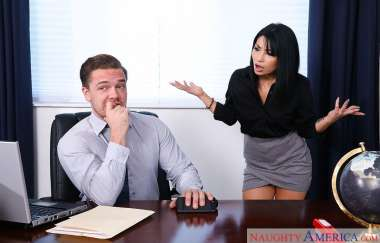 Rina Ellis , Kyle Mason - Naughty Office