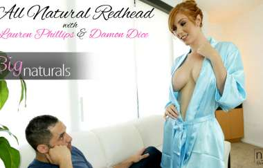 Damon Dice, Lauren Phillips  - All Natural Redhead